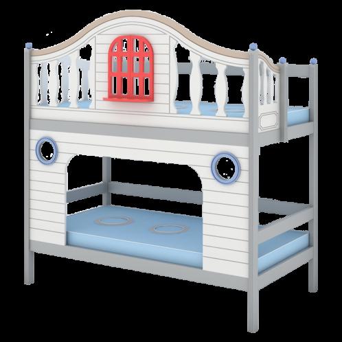"""Кровать высокая 2 спальных места """"Fantasy bay"""" 3"""
