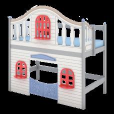 """Кровать высокая """"Fantasy bay"""" с каютой для отдыха"""