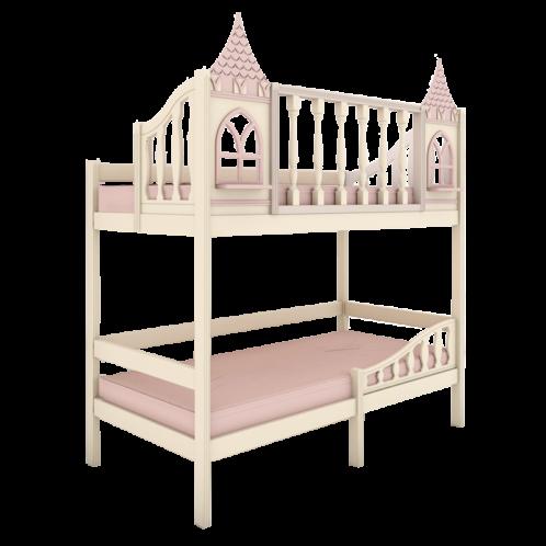 """Кровать высокая 2 спальных места """"Dream's Castle"""" 3"""