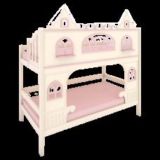 """Кровать высокая 2 спальных места """"Dream's Castle"""" 1"""