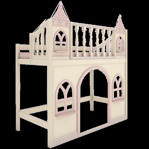 """Кровать высокая  """"Dream's Castle"""" 1"""