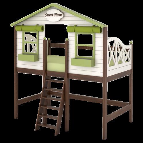 """Кровать высокая  """"Sweet house"""""""