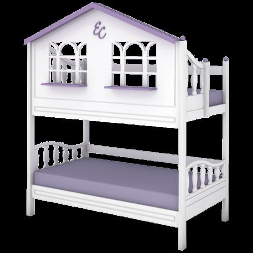"""Кровать высокая 2 спальных места """"Sweet house"""""""