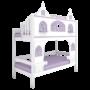 Кровать высокая 2 спальных места «Dream's Castle»