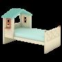 Кровать низкая  «Sweet house» simple